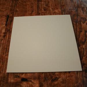 Plaque Aluminium Ivoir Claire Ral 1015 Satiné sur mesure