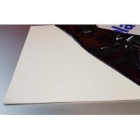 Crédence Aluminium Blanc Signalisation RAL 9016 sur mesure