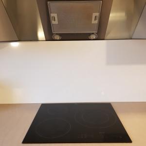 Fond de hotte Aluminium Blanc Signalisation RAL 9016 sur mesure