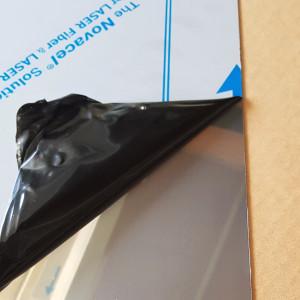 Plaque Inox 1 mm sur mesure