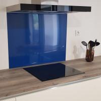 Crédence Aluminium Bleu Gentiane RAL 5008