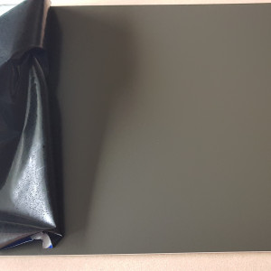 Plaque Aluminium Gris Terre d'ombre Ral 7022 sur mesure