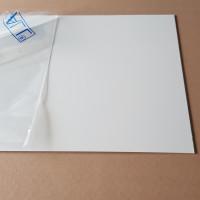 Plaque Aluminium Blanc Sécurité Ral 9003 sur mesure