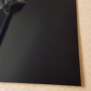 Plaque Aluminium Noir Foncé Ral 9005 sur mesure