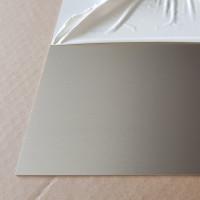 Plaque Aluminium Anodisé Brossé 1,5 mm sur mesure