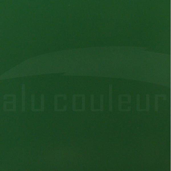 Plaque Aluminium Vert Mousse Ral 6005 sur mesure