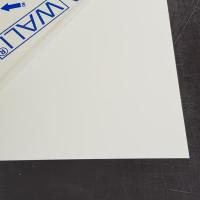 Plaque Aluminium Blanc Perlé Ral 1013 sur mesure