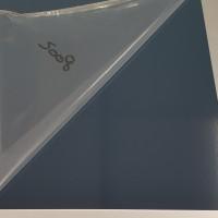 Plaque Aluminium Bleu Gris Ral 5008 sur mesure