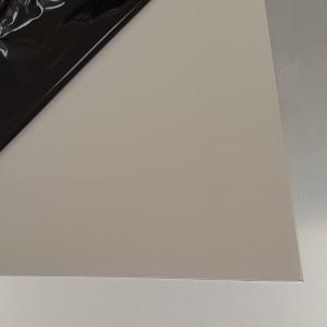 Plaque Aluminium Gris Pierre Ral 7030 sur mesure