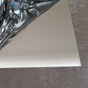 Plaque Inox Brossé 1,5 mm sur mesure