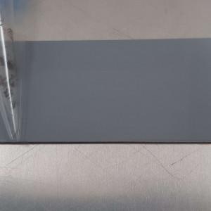 Alu Gris Argent 1,5 mm RAL 7001