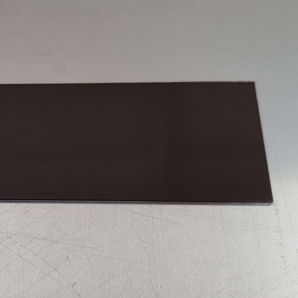 Alu Brun Gris-1,5 mm RAL 8019
