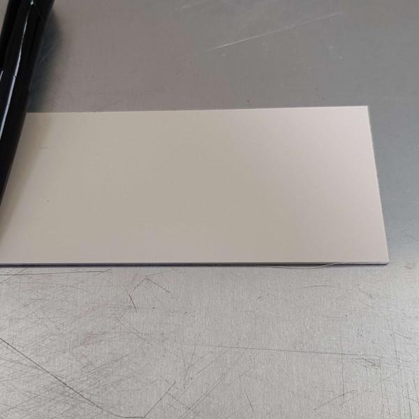 Blanc Crème-1,5 mm RAL 9001