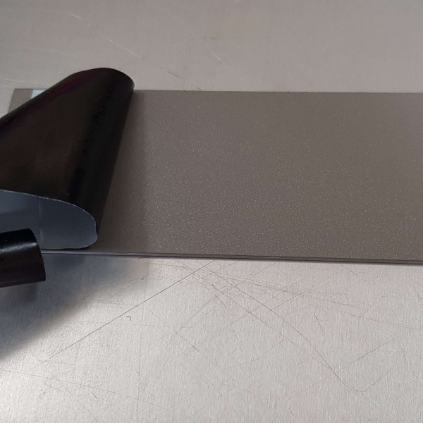 Alu Gris-1,5 mm RAL 9007