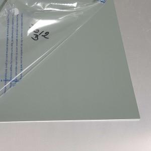 Plaque Aluminium Gris Basalte Ral 7012 sur mesure