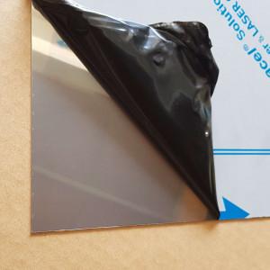 Plaque Inox Magnétique 1 mm
