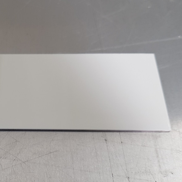Alu Blanc Pur-1,5 mm RAL 9010 Brillant