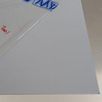 Plaque Aluminium Gris Argent Ral 7001 sur mesure